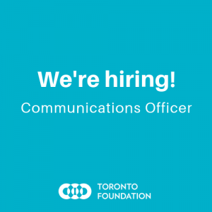 Communications Officer Job Posting