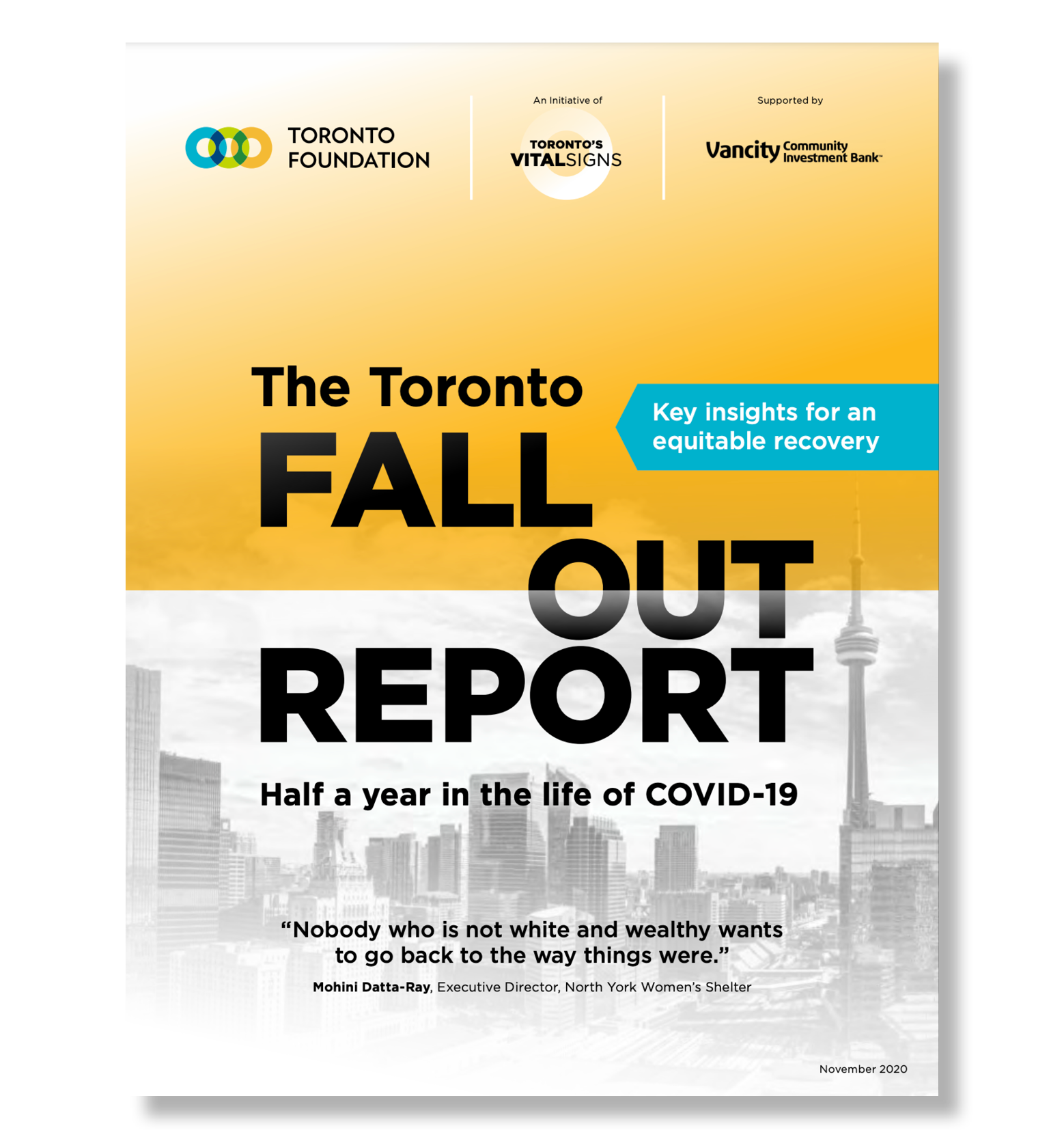 Cover of the Fallout Report