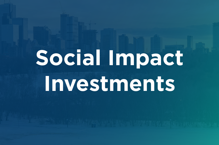 Social Impact Investments - Discover Comm Orgs